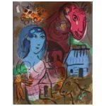 Marc Chagall (1887-1985) Hommage à Marc Chagall