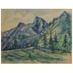 Samuel Finkelstein (1890-1942) Pejzaż górski