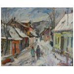 Józef Wasiołek (1921-2008) Ulica Partyzantów w Starym Sączu