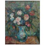 Jakub Zucker (1900-1981) Kwiaty w wazonie