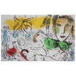 Marc Chagall (1887-1985) Zielony koń